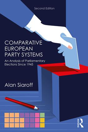 Comparative European Party Systems: An Analysis of Parliamentary Elections Since 1945, 2nd Edition (Paperback) book cover