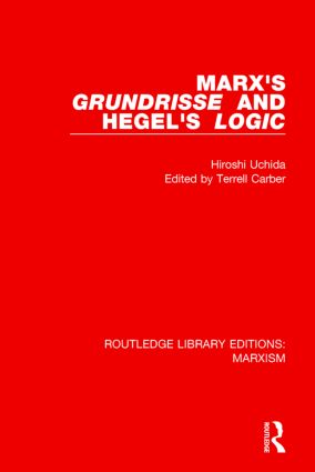 Marx's 'Grundrisse' and Hegel's 'Logic' book cover