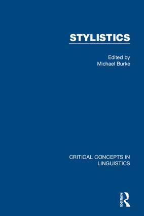 Stylistics: 1st Edition (Hardback) book cover