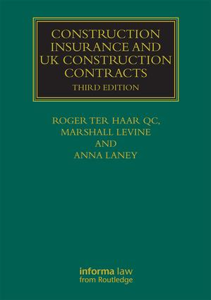Construction Insurance and UK Construction Contracts book cover