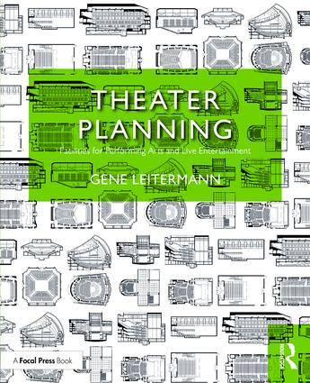 Theater Planning: Facilities for Performing Arts and Live Entertainment, 1st Edition (Paperback) book cover