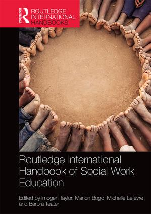 Routledge International Handbook of Social Work Education book cover