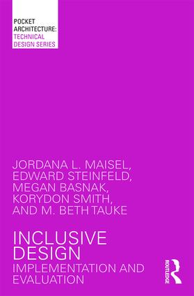 Inclusive Design: Implementation and Evaluation book cover