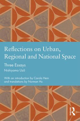 Reflections on Urban, Regional and National Space: Three Essays book cover