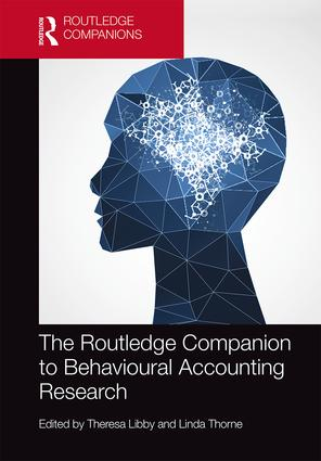 The Routledge Companion to Behavioral Accounting Research book cover