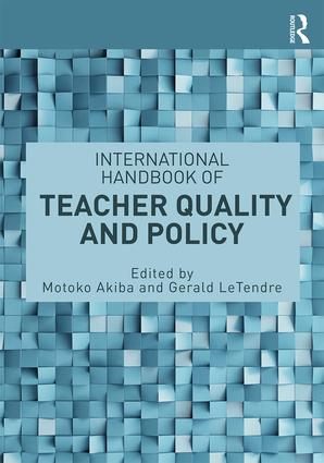 International Handbook of Teacher Quality and Policy (Paperback) book cover