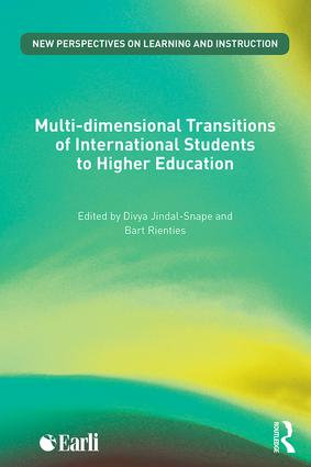 Multi-dimensional Transitions of International Students to Higher Education (Paperback) book cover
