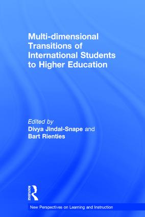 Multi-dimensional Transitions of International Students to Higher Education book cover