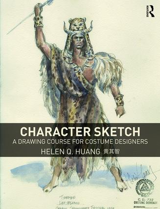 Character Sketch: A Drawing Course for Costume Designers (Paperback) book cover