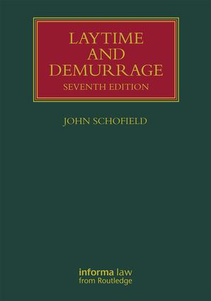 Laytime and Demurrage book cover