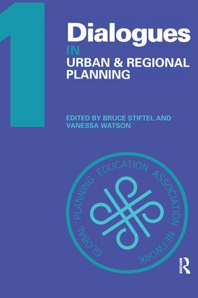 Dialogues in Urban and Regional Planning: Volume 1 book cover