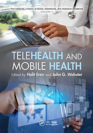 Telehealth and Mobile Health: 1st Edition (Paperback) book cover