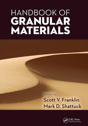 Handbook of Granular Materials: 1st Edition (Paperback) book cover