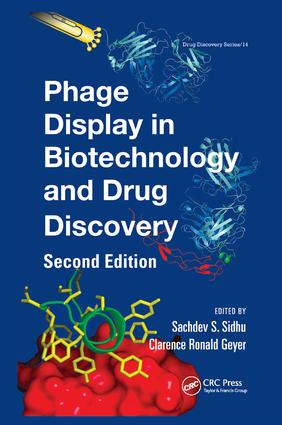 Phage Display In Biotechnology and Drug Discovery: 2nd Edition (Paperback) book cover