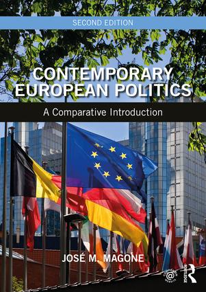 Contemporary European Politics: A Comparative Introduction book cover