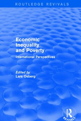 Economic Inequality and Poverty: International Perspectives: International Perspectives, 1st Edition (Paperback) book cover