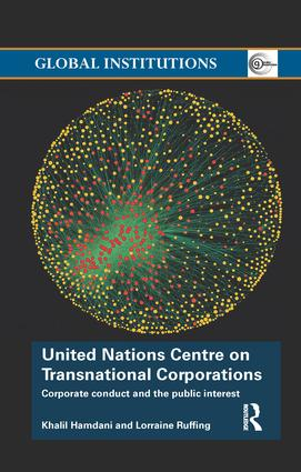 United Nations Centre on Transnational Corporations: Corporate Conduct and the Public Interest book cover