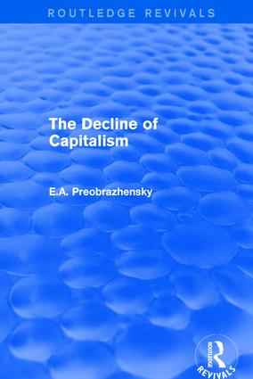 Decline of Capitalism book cover