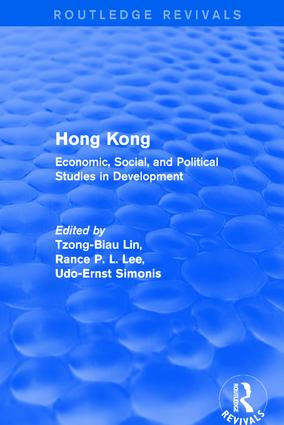 Revival: Hong Kong: Economic, Social, and Political Studies in Development, with a Comprehensive Bibliography (1979): Economic, Social, and Political Studies in Development, with a Comprehensive Bibliography, 1st Edition (Paperback) book cover