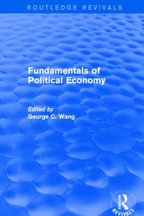Fundamentals of Political Economy: 1st Edition (Hardback) book cover