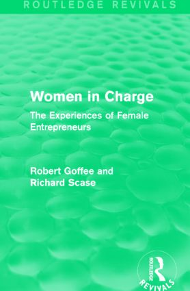 Women in Charge (Routledge Revivals): The Experiences of Female Entrepreneurs, 1st Edition (Paperback) book cover
