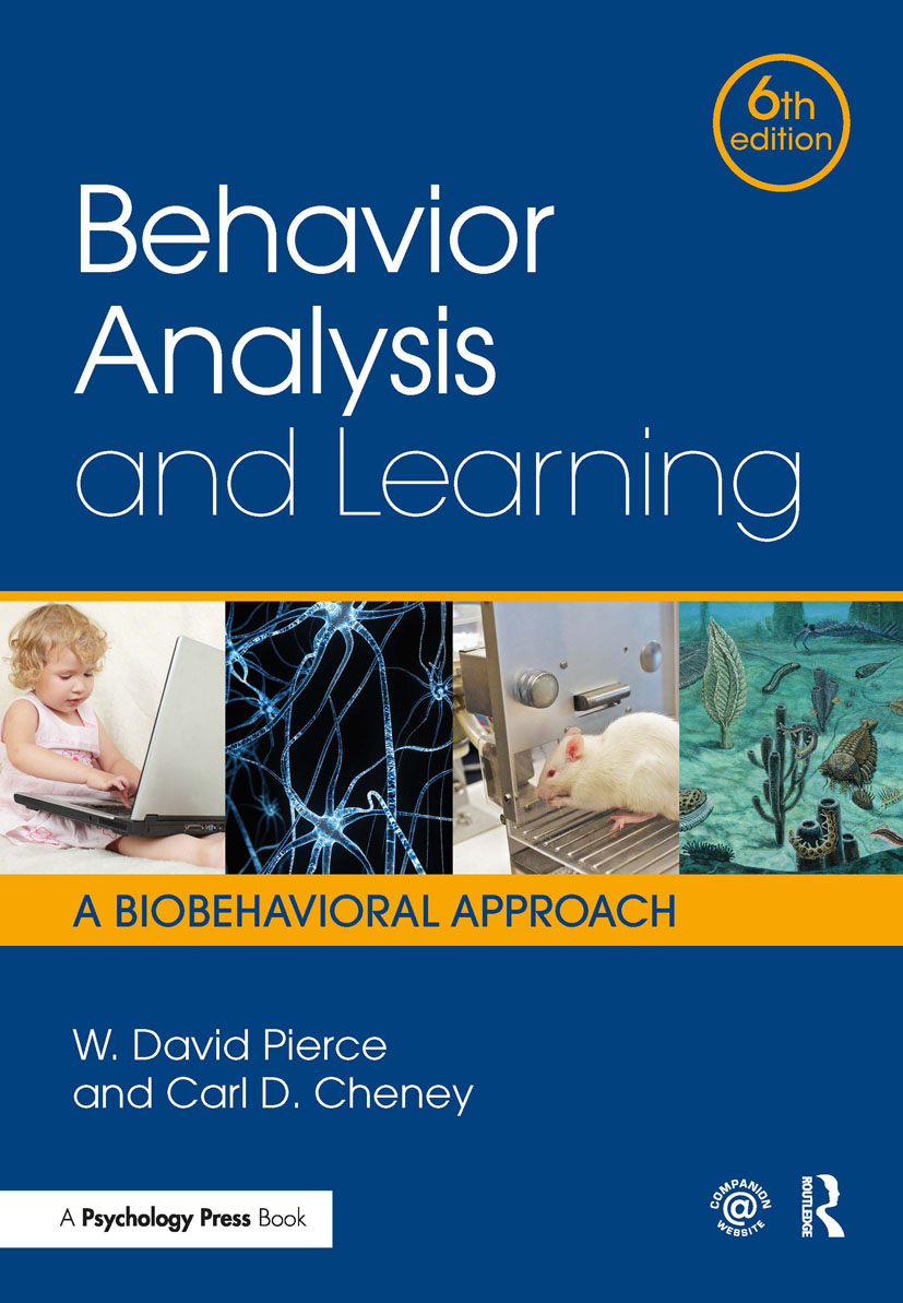 Behavior Analysis and Learning: A Biobehavioral Approach, Sixth Edition book cover
