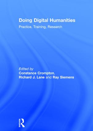 Doing Digital Humanities: Practice, Training, Research book cover