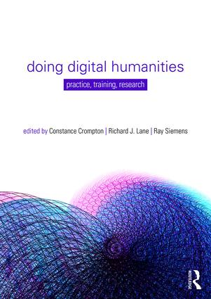Doing Digital Humanities: Practice, Training, Research (Paperback) book cover