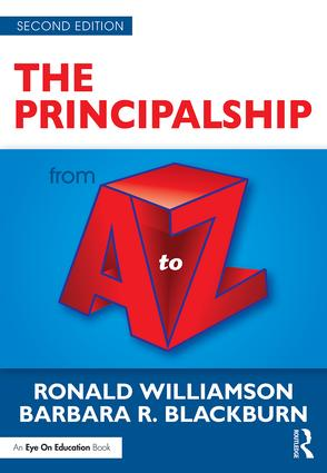 The Principalship from A to Z book cover