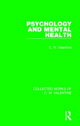 Psychology and Mental Health: 1st Edition (Paperback) book cover