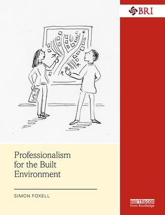 Professionalism for the Built Environment book cover