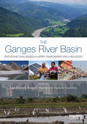 The Ganges River Basin: Status and Challenges in Water, Environment and Livelihoods, 1st Edition (Hardback) book cover