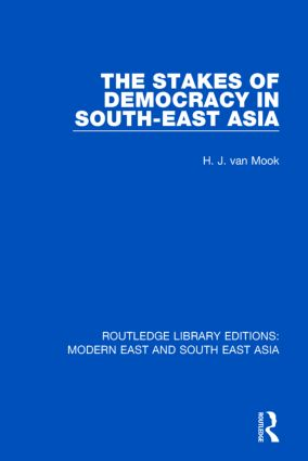 The Stakes of Democracy in South-East Asia: 1st Edition (Paperback) book cover