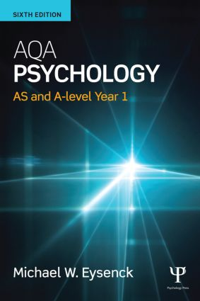 AQA Psychology: AS and A-level Year 1 book cover