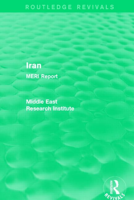 Iran (Routledge Revival)