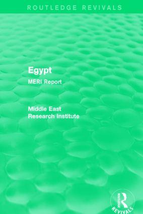 Egypt (Routledge Revival)