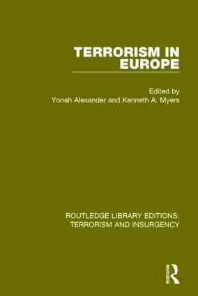 Terrorism in Europe (RLE: Terrorism & Insurgency) book cover