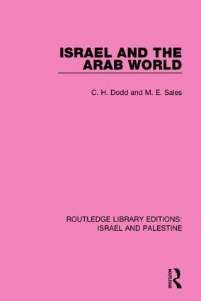 Israel and the Arab World (RLE Israel and Palestine) book cover