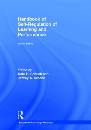 Handbook of Self-Regulation of Learning and Performance: 2nd Edition (Hardback) book cover