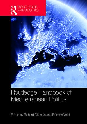 Routledge Handbook of Mediterranean Politics (Hardback) book cover