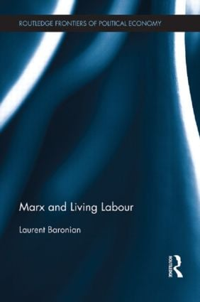 Marx and Living Labour book cover
