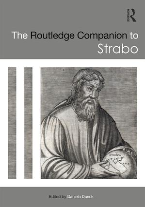 The Routledge Companion to Strabo (Hardback) book cover
