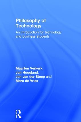 Philosophy of Technology: An Introduction for Technology and Business Students, 1st Edition (Hardback) book cover