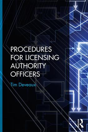 Procedures for Licensing Authority Officers (Hardback) book cover