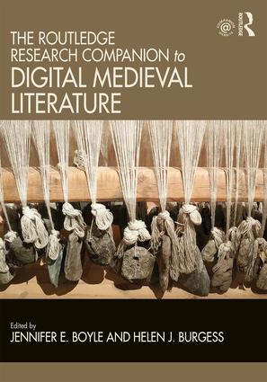 The Routledge Research Companion to Digital Medieval Literature (Hardback) book cover