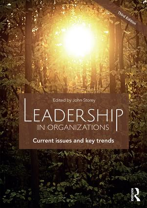 Leadership in Organizations: Current Issues and Key Trends, 3rd Edition (Paperback) book cover