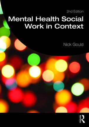 Mental Health Social Work in Context book cover