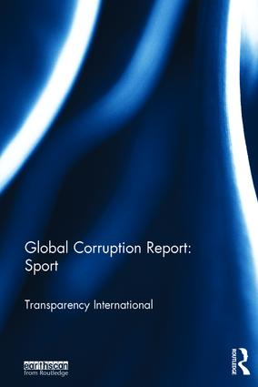 Global Corruption Report: Sport: 1st Edition (Hardback) book cover