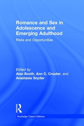 Adolescent Romantic Relationships: An Emerging Portrait of Their Nature and Developmental Signifi cance