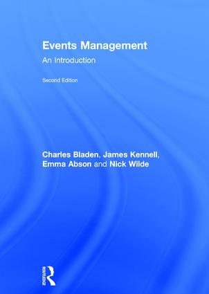 Events Management: An Introduction book cover